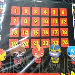 Funko POP Advent calendar Marvel Edition